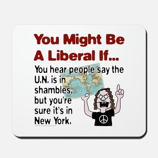 U.N. in Shambles Mousepad