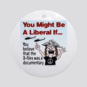 Liberal Paranoid Delusions Ornament (Round)