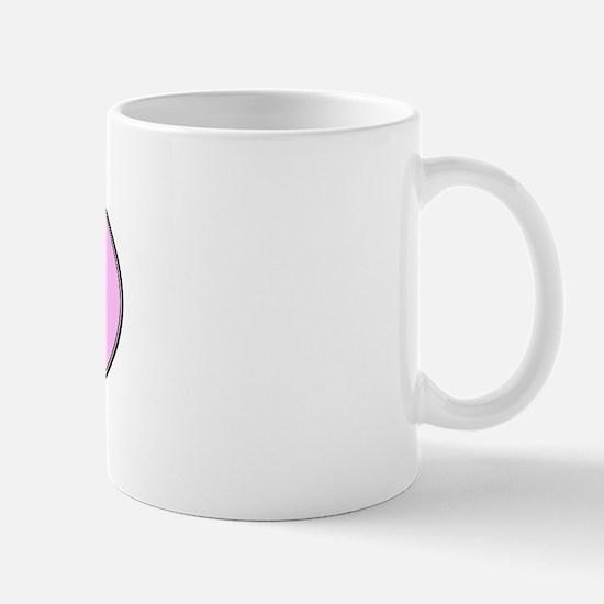 Skye Terrier (oval-pink) Mug