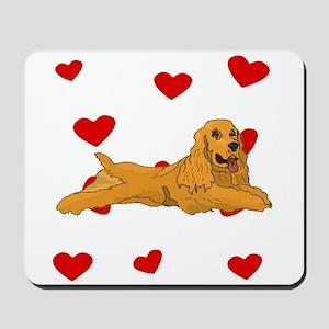 Cocker Spaniel Love Mousepad