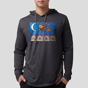 xmas Witch Befana Long Sleeve T-Shirt