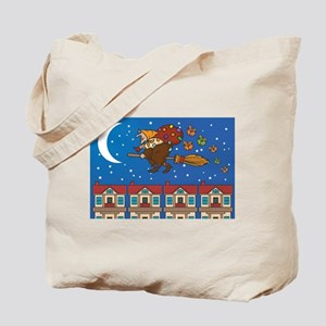 xmas Witch Befana Tote Bag