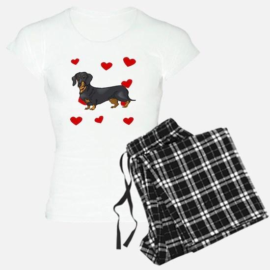 Dachshund Love Pajamas