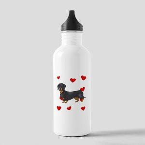 Dachshund Love Water Bottle