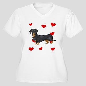 Dachshund Love Plus Size T-Shirt