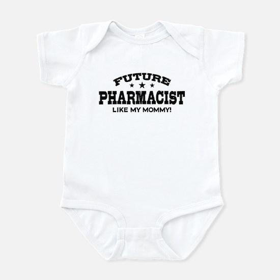 Future Pharmacist Like My Momm Baby Light Bodysuit