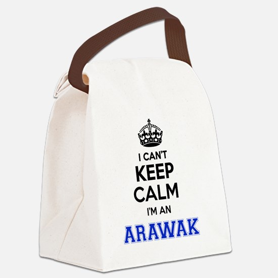 Cute Arawak Canvas Lunch Bag