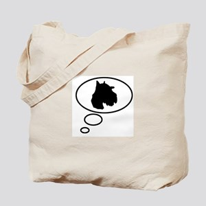 Thinking of Schnoodle Tote Bag