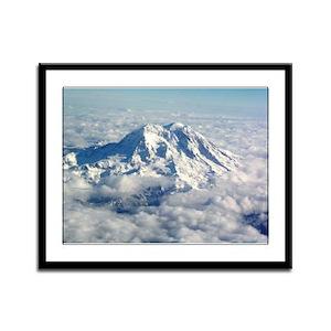 Helaine's Mt Hood Framed Panel Print