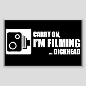 Dashcam Sticker