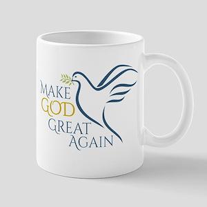 Make God Great Again 11 oz Ceramic Mug
