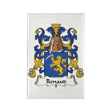 Renaud Rectangle Magnet (10 pack)