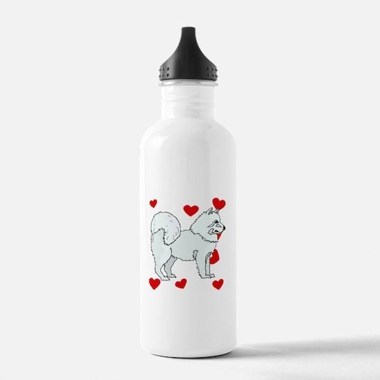 Samoyed Love Water Bottle