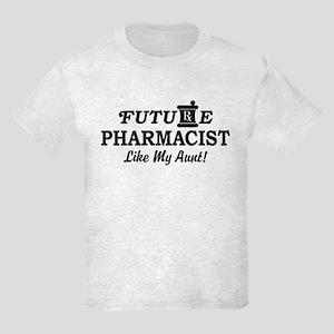 Future Pharmacist Like My Aunt Kids Light T-Shirt