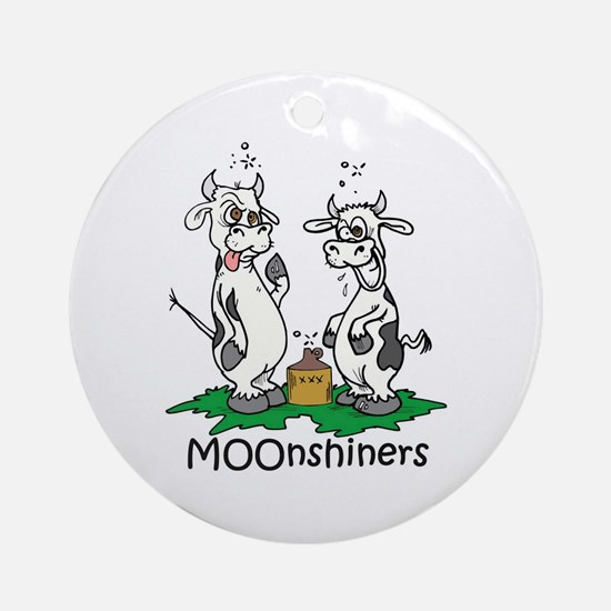MOOnshiners Ornament (Round)