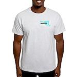 True Blue Maryland LIBERAL - Ash Gray T-Shirt