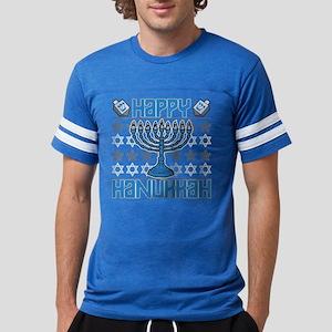 Happy Hanukkah Mens Football Shirt