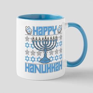 Happy Hanukkah 11 oz Ceramic Mug
