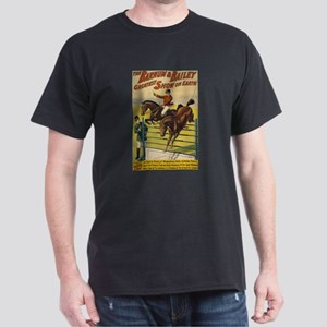 BARNUM AND BAILEY HORSE ACT dark t-shirt