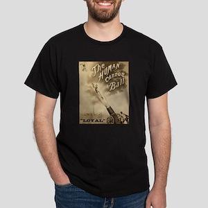 HUMAN CANNON BALL dark t-shirt