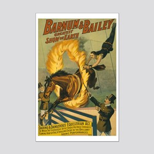 BARNUM AND BAILEY FIRE poster 11x17
