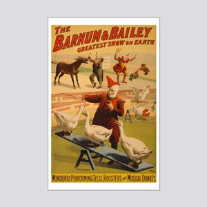 BARNUM AND BAILEY GEESE poster 11x17