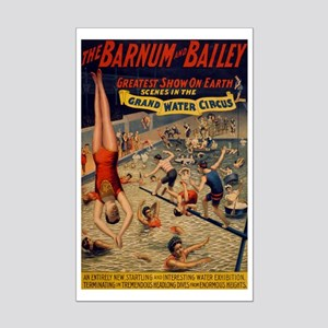 BARNUM AND BAILEY WATER SHOW poster 11x17