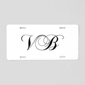 VB-cho black Aluminum License Plate