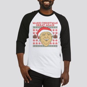 Make Christmas Great Again Baseball Tee
