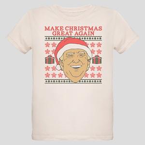Make Christmas Great Again Organic Kids T-Shirt
