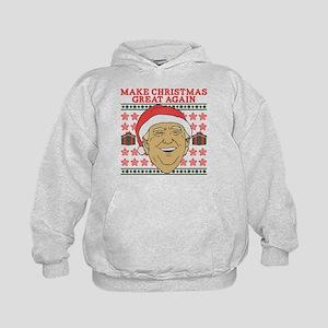 Make Christmas Great Again Kids Hoodie