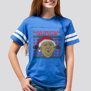 Make Christmas Great Again Youth Football Shirt