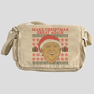 Make Christmas Great Again Messenger Bag