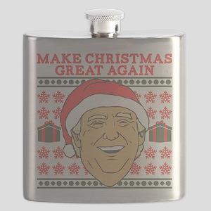 Make Christmas Great Again Flask