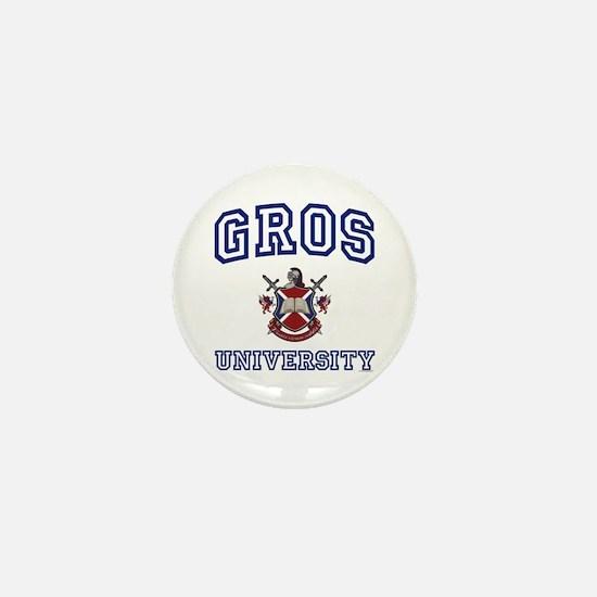 GROS University Mini Button