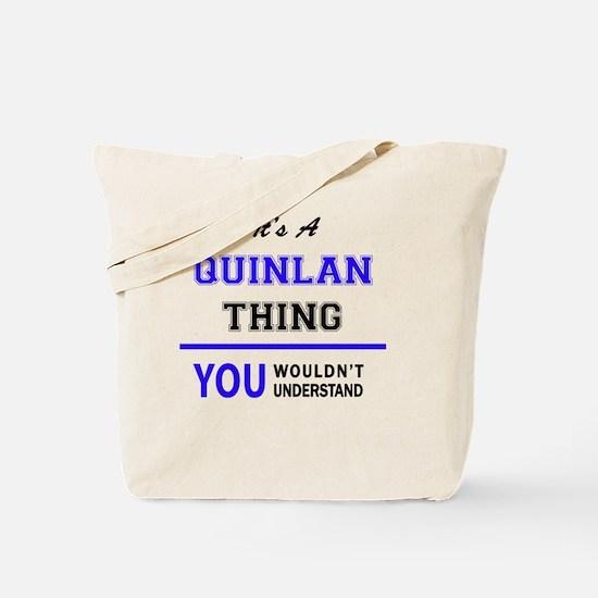 Cute Quinlan Tote Bag