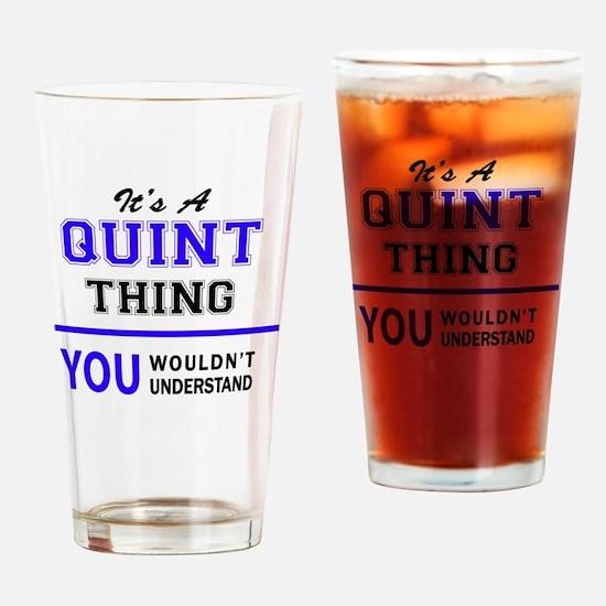 Cute Quint Drinking Glass