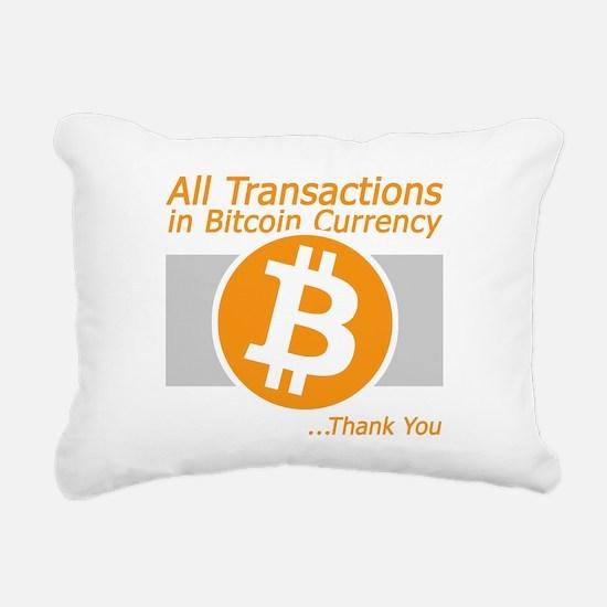 All Transactions in Bitc Rectangular Canvas Pillow