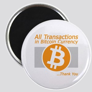 All Transactions in Bitcoin Currency Magnets