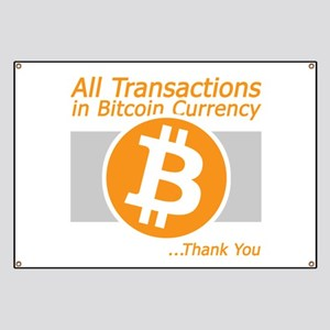 All Transactions in Bitcoin Currency Banner