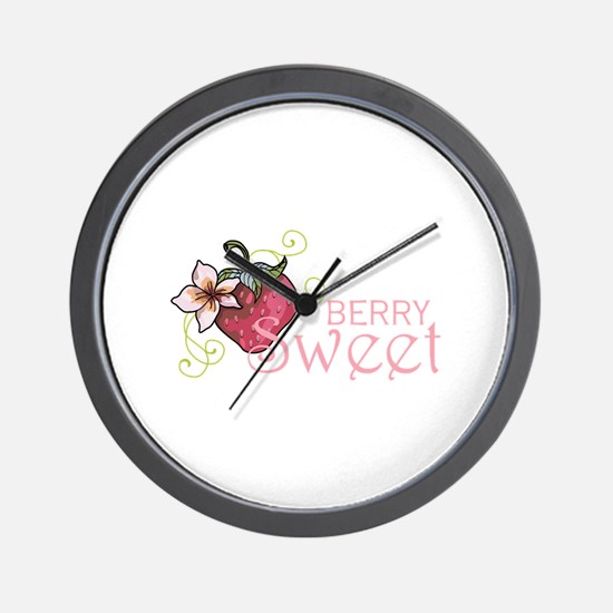 BERRY SWEET Wall Clock