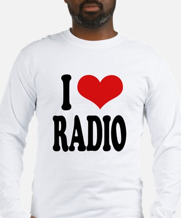 I Love Radio Long Sleeve T-Shirt