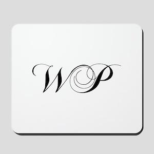 WP-cho black Mousepad