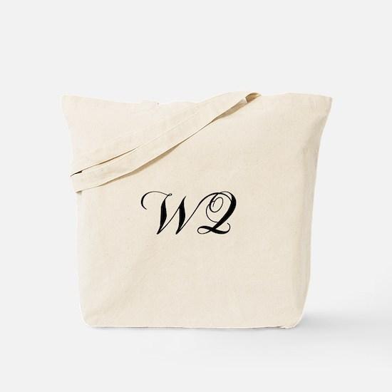 WQ-cho black Tote Bag