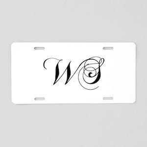 WS-cho black Aluminum License Plate