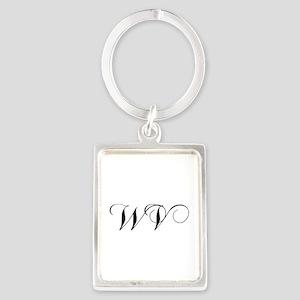 WV-cho black Keychains