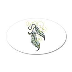 PEAPODS Wall Decal