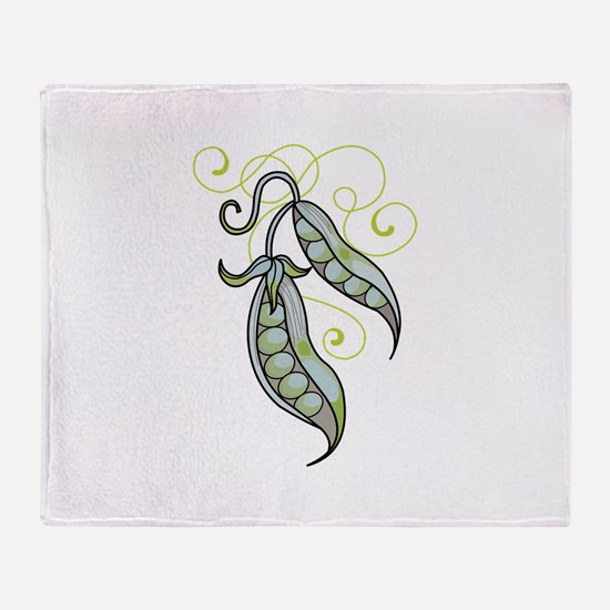 PEAPODS Throw Blanket