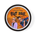 Post Bros1 Wall Clock