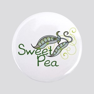"""SWEET PEA 3.5"""" Button"""